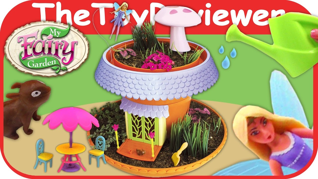 My Fairy Garden Magical Cottage By Playmonster Grow And Plant Unboxing Toy Review Thetoyreviewer