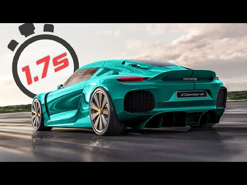 TOP 10 Fastest ACCELERATING Production Cars (0-60 mph)