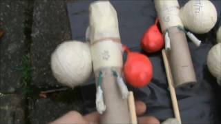 Bonfire Night Fireworks 2010 - Homemade Rocket Display