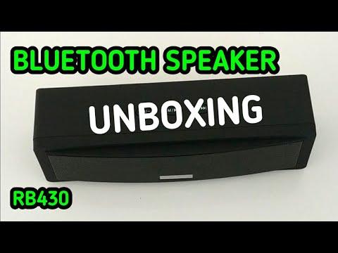Unboxing Bluetooth Speaker