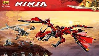 Lego Ninjago 70653 Rồng Lửa Đỏ của Kai Unofficial Lego