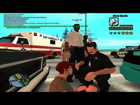 RP авария на дороге - RP на Samp-RP умирает??!