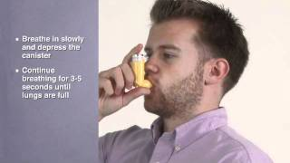 How to Use an Inhaler