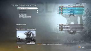 GAM3VIDZ - Black Ops Live Comm Prestiging, Gold Guns, Classes, TDMs