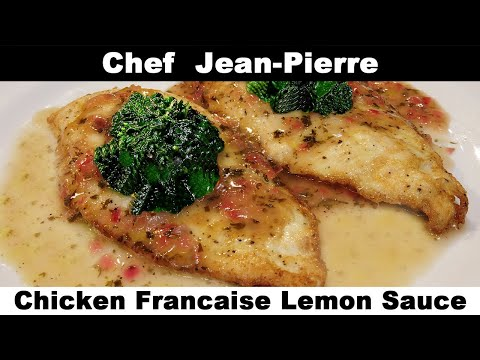 Classical Chicken Francaise with Butter Lemon Sauce – Chef Jean-Pierre