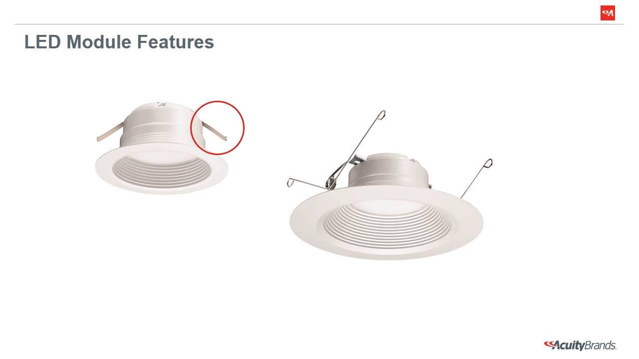 lithonia lighting e series led recessed module