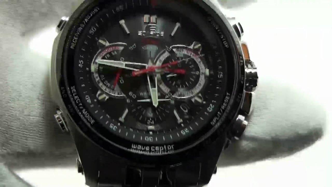 Eqw-m710db-1a1er | radio controlled | edifice | timepieces.