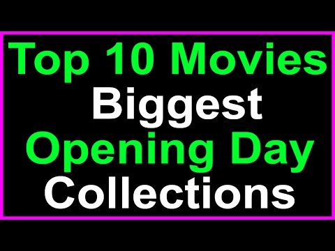 Top 10 Telugu Movies First Day Boxoffice Collections in Tollywood Film Industry