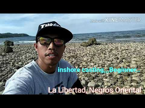 Field Test, Inshore Fishing(Sougayilang)My First Rod And Reel @ La Libertad, Negros Oriental