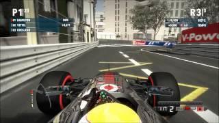F1 2012 - Monte Carlo Monaco PC Gameplay (Full HD)