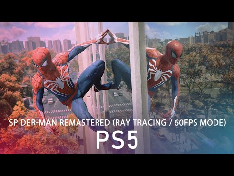 Spider-Man Remastered on PS5: ray tracing and 60fps modes