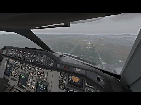 Real 737 Captain LIVE | iniBuilds Airbus A300 Freighter | Gdansk - Luxembourg | X-Plane 11