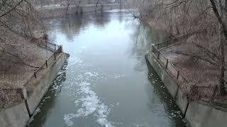 Прогулка по реке Сходня на запретки 08 12 2019