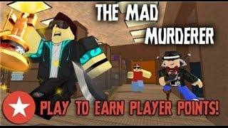Roblox-The mad murderer!!!! - AHHHH
