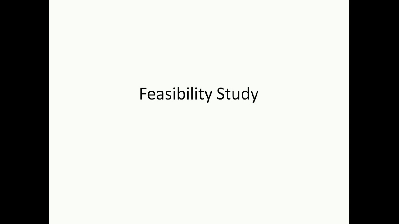 Feasibility Study In Hindi And Simple Language Youtube