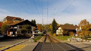 Part 2 - Lötschberg Mountain Route - Driver's Eye View – Spiez to Bern