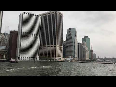 Lower Manhattan from a water taxi, part 2