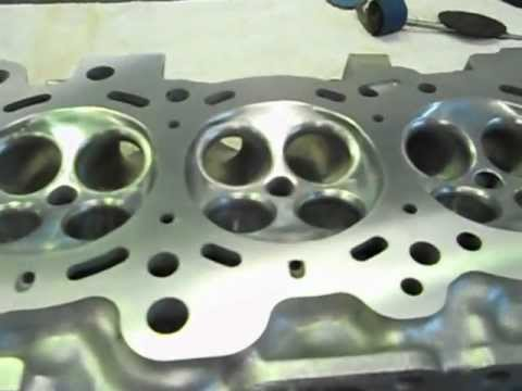 How to port and polish a 500hp Nissan SR20DET head part3..