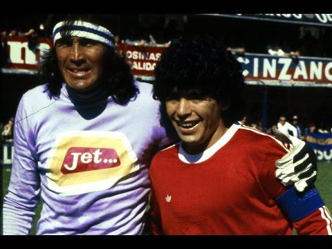 Diego maradona vs El loco Gatti
