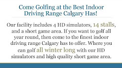 Riverside Golf Centre's Indoor Driving Range