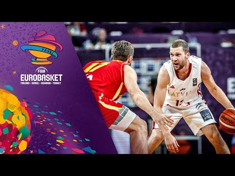 Latvia v Montenegro - Full Game - Round of 16 - FIBA EuroBasket 2017