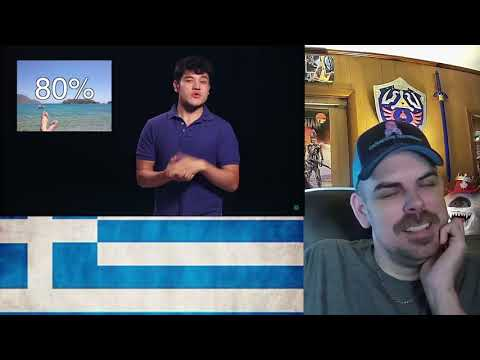 Geography Now! Greece REACTION