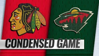 10/11/18 Condensed Game: Blackhawks @ Wild