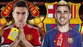 Manchester United Ready To Spend £200M On Paulo Dybala After Griezmann Snub! | Transfer Talk