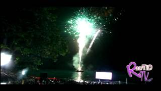INDEPENDENCE FIREWORKS - August 6th 2012 (Negril, Jamaica)