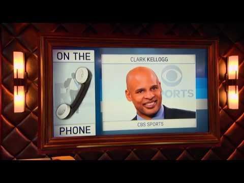 CBS College Basketball Analyst Clark Kellogg on Parity in NCAA March Madness Tournament - 3/21/17