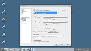 Set up Lync 2013   Set up your audio in Lync 2013   Video 4 of 5