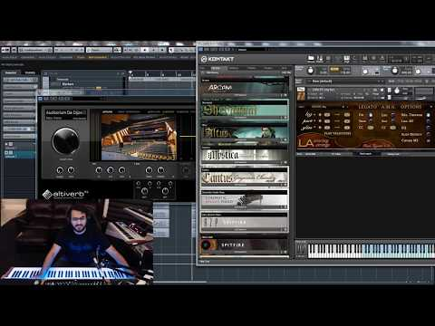STUDIO SPACE #1.2: More Altiverb - Plucked Strings, Orchestra, & Choir