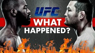 what-happened-the-ufc-s-first-cancelled-event