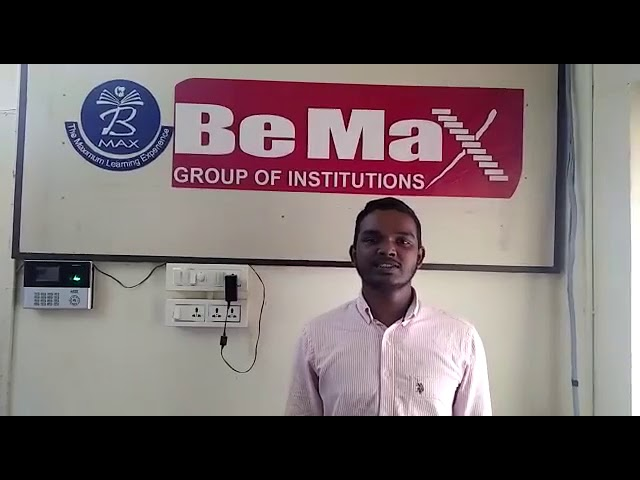 Jeeva Godwin IELTS, Testimonial BeMax Academy- Best Coaching for IELTS,OET Centre in Kerala