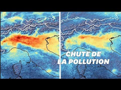 En Italie, les émissions de gaz à effet de serre ont drastiquement chuté