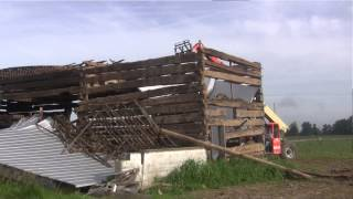Rare Ohio Barn Salvaged for New Home