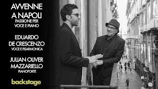 2021 BACKSTAGE E. De Crescenzo con J.O. Mazzariello