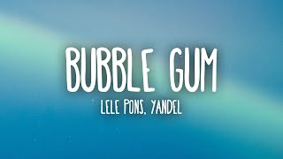 Play Bubble Gum (with Yandel)