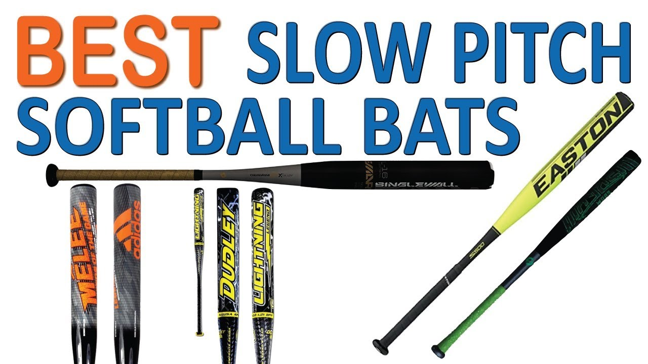 Top 5 Best Slow Pitch Softball Bats 2018 Youtube