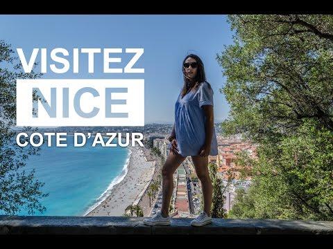 UNE JOURNEE POUR VISITER LA VILLE NICE COTE D'AZUR, EN FRANCE   VLOG #02