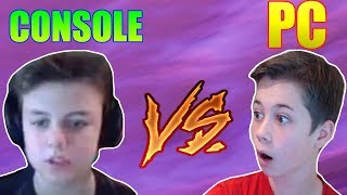 PC PRO vs PS4 PRO In 1v1 build battle's (Fortnite battle royale)