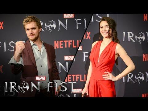 Finn Jones & Jessica Henwick on Marvel's Iron Fist