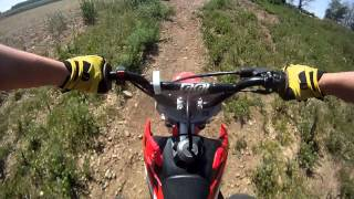 Funny GoPro Video of The Week: HONDA crf 70 - pit bike video !