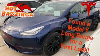tesla Model Y Long Range First Look Quick Review