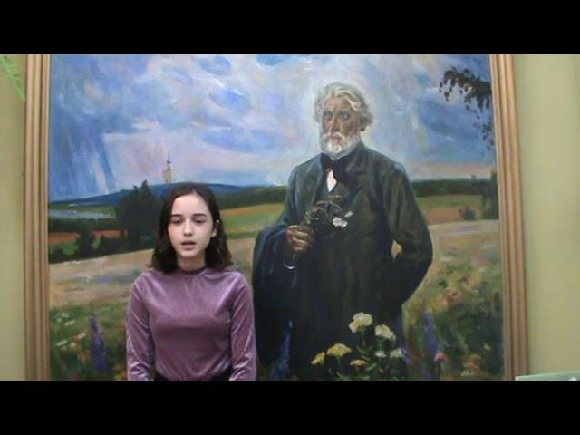 Изображение предпросмотра прочтения – РоянаАбдулкаримова читает произведение «Как хороши, как свежи были розы...» И.С.Тургенева