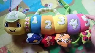 Видео обзоры игрушек - Leap Frog Музыкальная гусеница