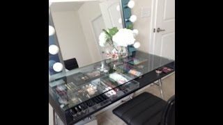 Diy Modern Vanity With Lights