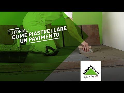 Come posare le piastrelle da pavimento tutorial leroy merlin youtube - Posare le piastrelle ...