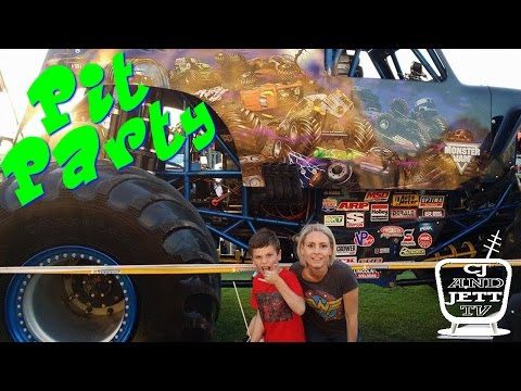 First off we check out the Monster Jam Pit Party  Ep 32
