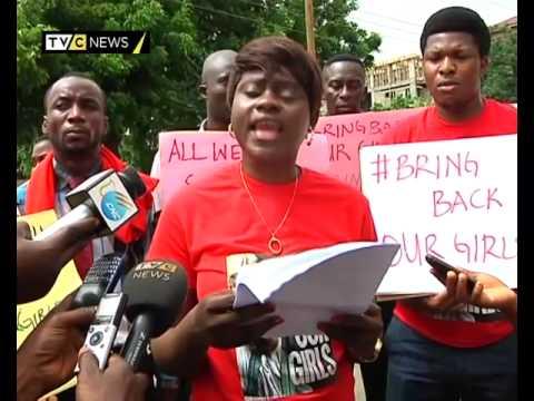 Protest in Ghana for release of abducted Nigerian schoolgirls